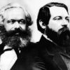 Communism fathers: Marx and Engels
