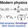 Maths of modern physics